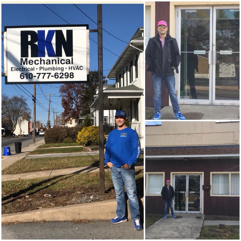 Rory Nagle, owner of RKN Mechanical