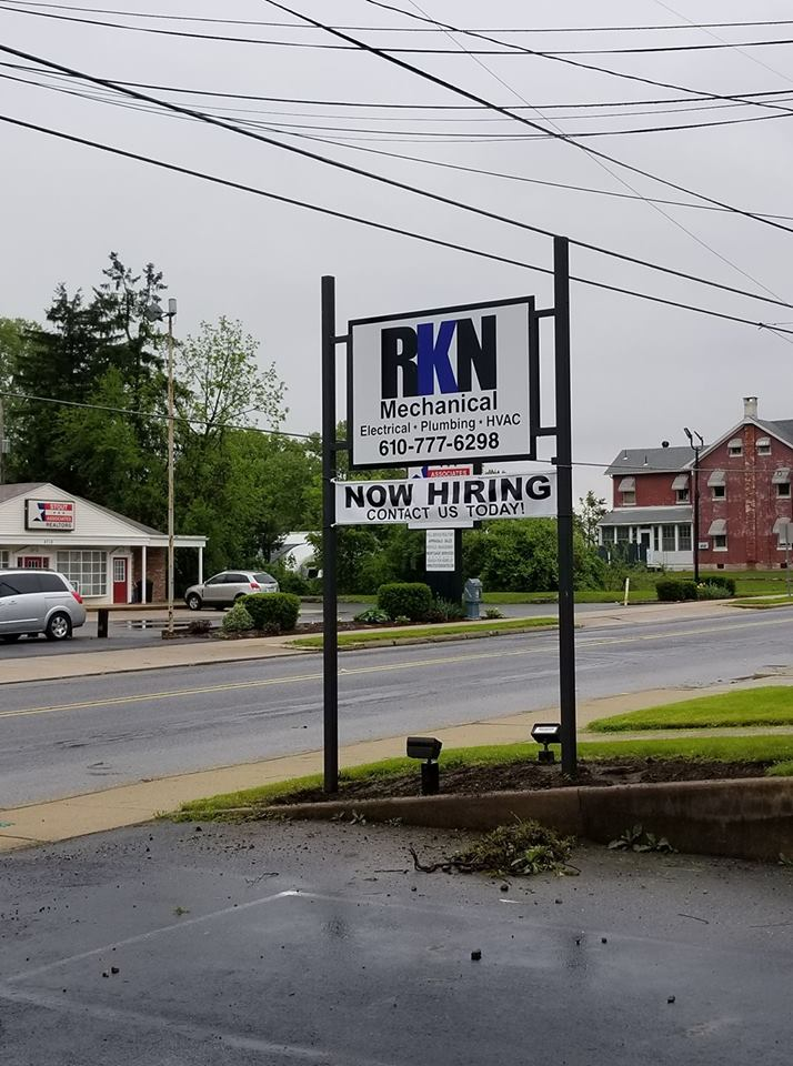 RKN Mechanical is now hiring!