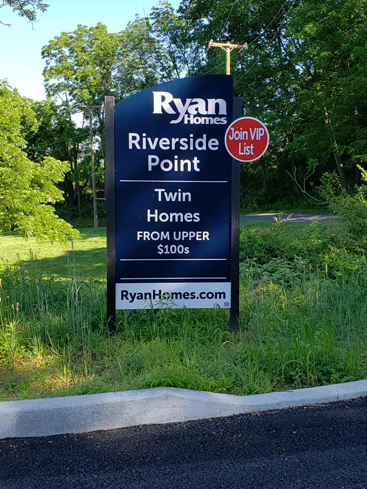RKN Mechanical with Ryan Homes building Riverside Point, Northampton PA